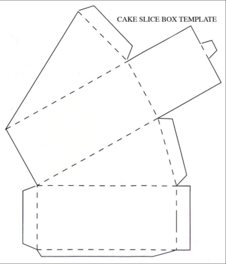 een papieren taartvorm